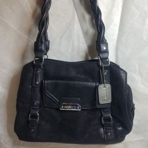 Rosetti black hangbag